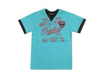 b807f62a581a Märkes T-shirt, stl 140 (341383460) ᐈ Köp på Tradera