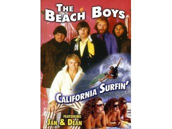 Beach Boys California Surfin' med Jan & Dean  (DVD)