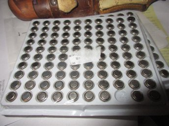 100X AG3 SR41 LR41 392 192 LR736 Button Cell Battery nummerräknare/klockor