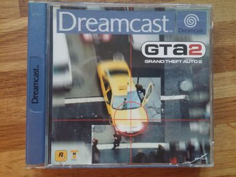 Grand Theft Auto 2, GTA2, Sega Dreamcast PAL