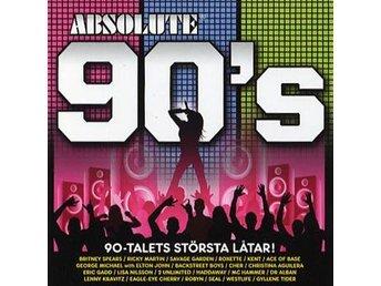 Absolute 90s (3CD) Ord Pris 159 kr SALE - Nossebro - Absolute 90's (3CD) Ord Pris 159 kr SALE - Nossebro