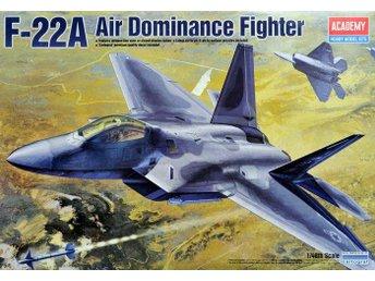 Academy F-22 A Raptor i skala 1/48 - Linköping - Academy F-22 A Raptor i skala 1/48 - Linköping