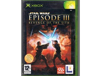 XBOX spel   Star Wars episode 3   Revenge of the sith