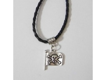 Piratflagga halsband / Pirate flag necklace