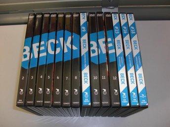14 stycken Beck-filmer - Västervik - 14 stycken Beck-filmer - Västervik