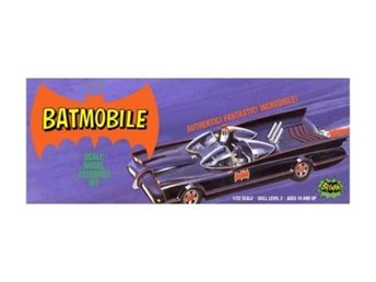 PolarLights CLASSIC BATMOBILE incl. Batman + Robin fig., de luxe parts 1/25