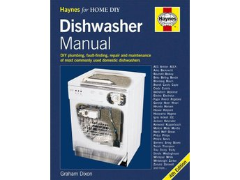 Dishwasher Manual - reparera din diskmaskin - helt ny!