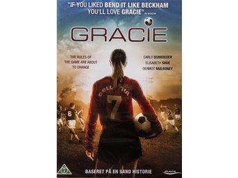 GRACIE, sann berättelse om Da Gracie, en tuff fotbollstjej, 93 min, NY inplastad - Solna - GRACIE, sann berättelse om Da Gracie, en tuff fotbollstjej, 93 min, NY inplastad - Solna