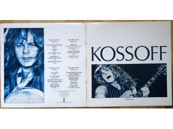 Paul Kossoff-Blue Soul (Island Records PKSP 100) 1986