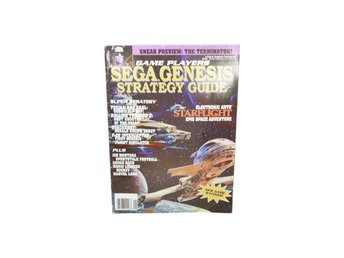 Game players Sega Genesis strategy guide