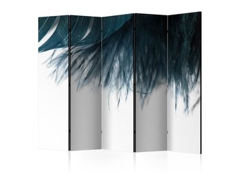 Rumsavdelare - Dark Blue Feather II Room Dividers 225x172