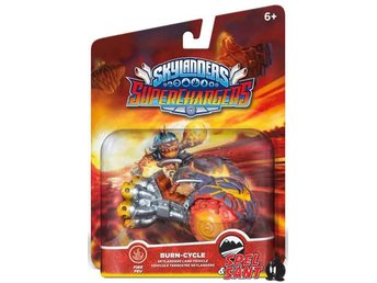 Skylanders Superchargers (Vehicle) Burn Cycle