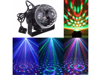 LED Disco Club DJ Light Crystal Magic Ball Effect Stage Lighting for Party