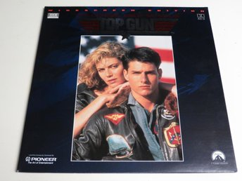 TOP GUN (Laserdisc) Tom Cruise