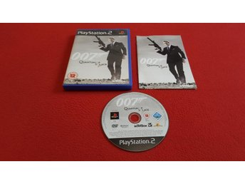 007 QUANTUM OF SOLACE till Sony Playstation 2 PS2