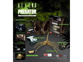 Aliens vs Predator Hunter Collectors Edition PS3  spel NYTT o INPLASTAT !