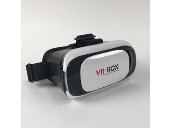 VR BOX, VR glasögon, Virtual reality glasses, Vit/Svart