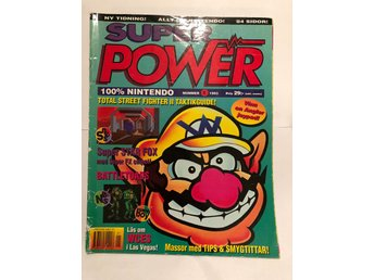"Super Power Nr 1 1993 ""Wario, Super Star Fox, Battle toads"""