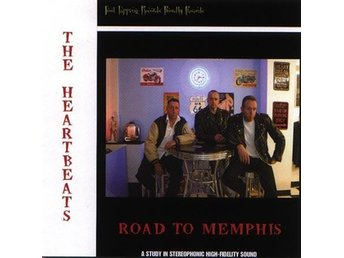 Heartbeats, The - Road To Memphis - CD NY - FRI FRAKT