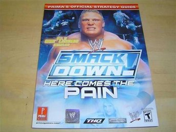 SMACKDOWN HERE COMES PAIN SPELGUIDE GUIDE WALKTHROUGH *NYTT*