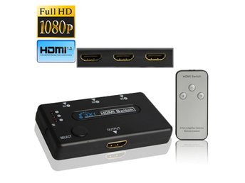 HDMI Switch 3 portar 1080P HDTV