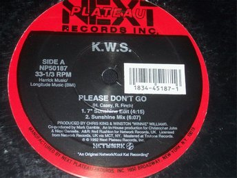 "K.W.S. - PLEASE DON´T GO 12"" 1992 ELECTRONICA TOPPSKICK!!"
