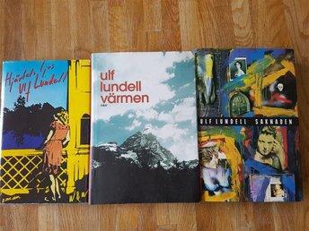 3 böcker av Ulf Lundell - örby - 3 böcker av Ulf Lundell - örby