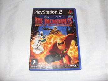The Incredibles Rise of The Underminer till Playstation 2 PAL