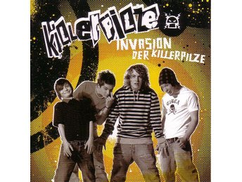 Killerpilze-Invasion der Killerpilze / Enhanced CD