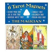 Tarot Magnets : Magician (package of 6) 9781572817449