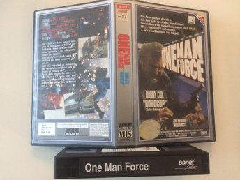 One Man Force (1989) - Sandrews