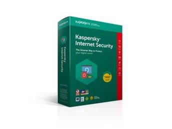 Kaspersky Internet Security Multi Device 2018, 1anv 1år Retail box