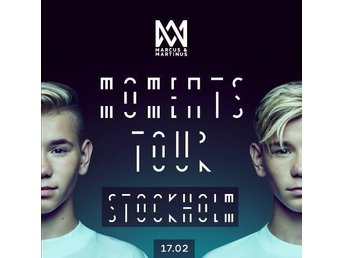 Marcus & Martinus 17/2 1st Golden Circle Globen