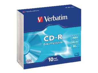 Verbatim CD 700 MB 10 St