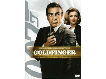 Goldfinger (2-disc)Ultimate Edition-Sean Connery och Gert Fröbe