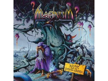 Magnum -Escape from the shadow garden DLP with CD blue vinyl