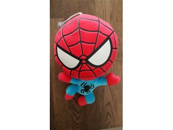 Spindelmannen, Plush Marvel, The Avengers, dekoration,  Merchandise. Ny skick!