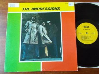 THE IMPRESSIONS - S/T, LP EMUS USA