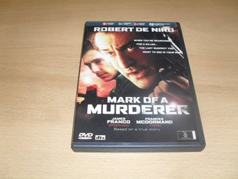 DVD-film: Mark of a murderer (Robert De Niro, James Franco)