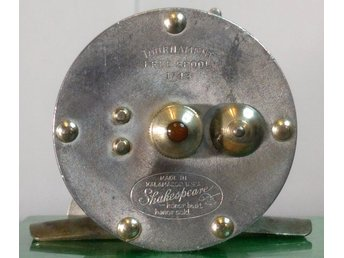 Rare; Shakespeare Tournament Model 26 100 Yard Aluminum Casting Reel/ Free Spool