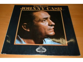 JOHNNY CASH LP The Great Johnny Cash UK 1970
