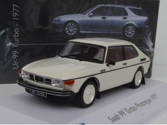 SAAB 99 TURBO PROTOTYP 1977 - ATLAS DeA - 1:43