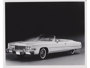 1973 Cadillac Eldorado Convertible Original Factory SAMLARBILD FOTO PHOTO