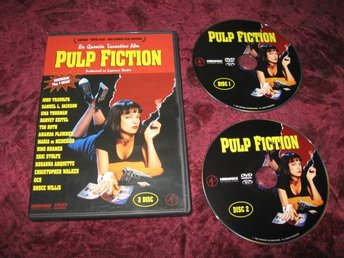 PULP FICTION 2-DISC(JOHN TRAVOLTA,BRUCE WILLIS,UMA THURMAN,SAMUEL L. JACKSON)DVD
