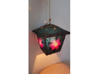 Fönsterlampa 2 lampa retro blomma plast belysning inredning 70-tal? Hem hushåll - Altersbruk - Fönsterlampa 2 lampa retro blomma plast belysning inredning 70-tal? Hem hushåll - Altersbruk