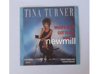 "TINA TURNER What's Love Got To Do With It 7""singel 1984 MEGA hit"