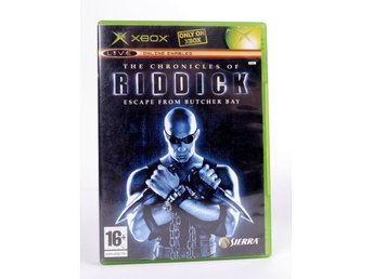 The Chronicles of Riddick Escape From Butcher Bay - Xbox - PAL (EU)