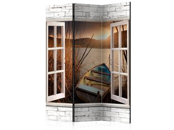 Rumsavdelare - Autumnal Lake Room Dividers 135x172