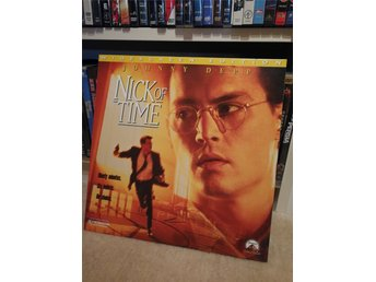 Nick of Time Johnny Depp Christoper Walken laserdisc widescreen ac3