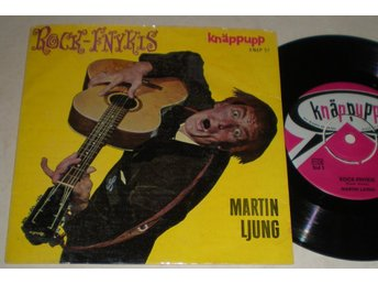 Martin Ljung EP/PS Rock-Fnykis 1959
